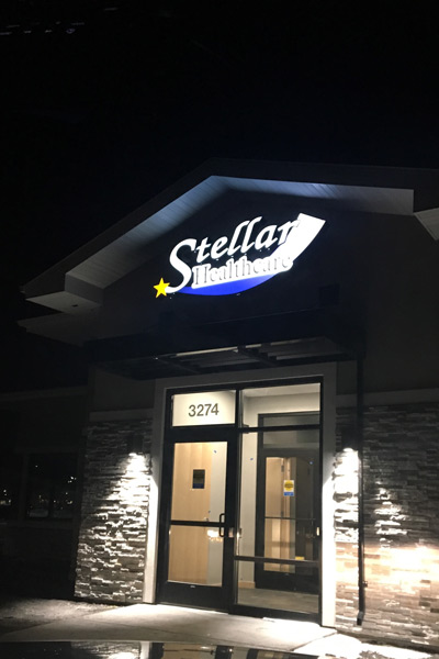 Stellar Healthcare at Night